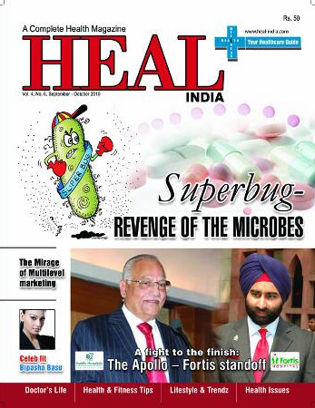 Sep and Oct Heal Magazines